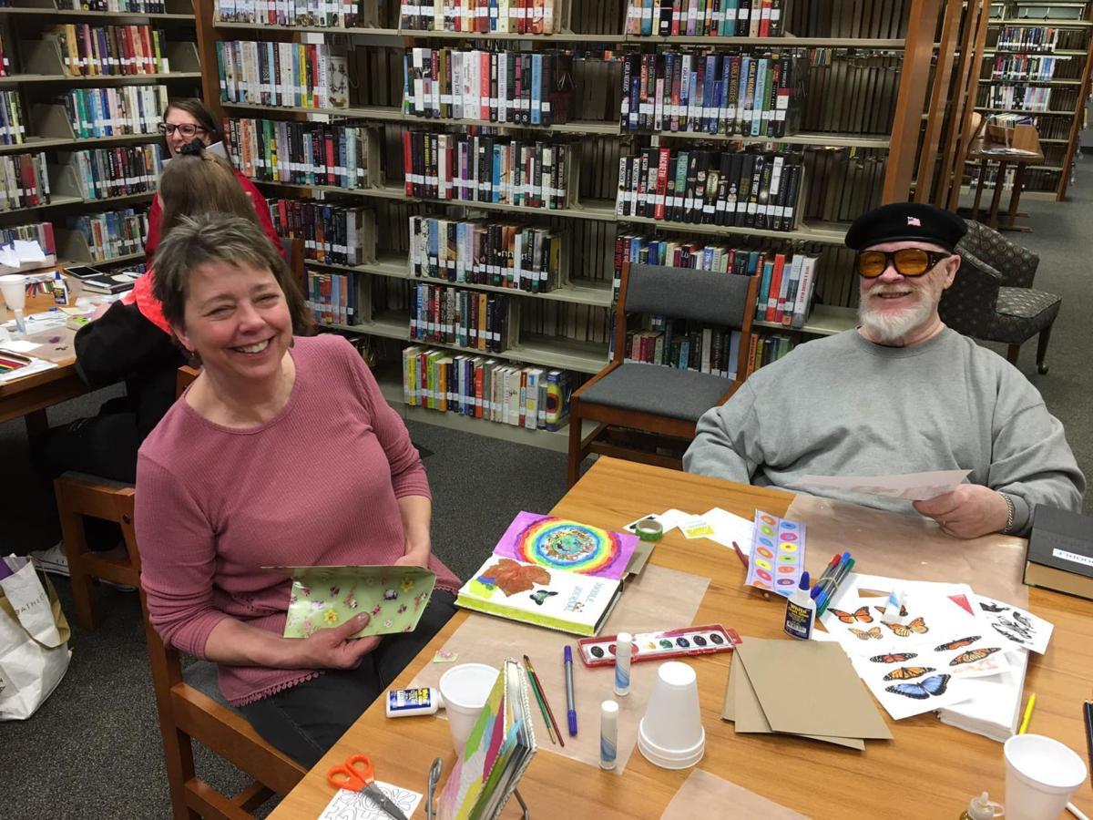 Fontana library craft event