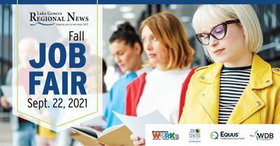 Walworth County Fall 2021 Job Fair