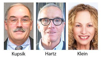 Mayor candidates Kupsik Hartz Klein
