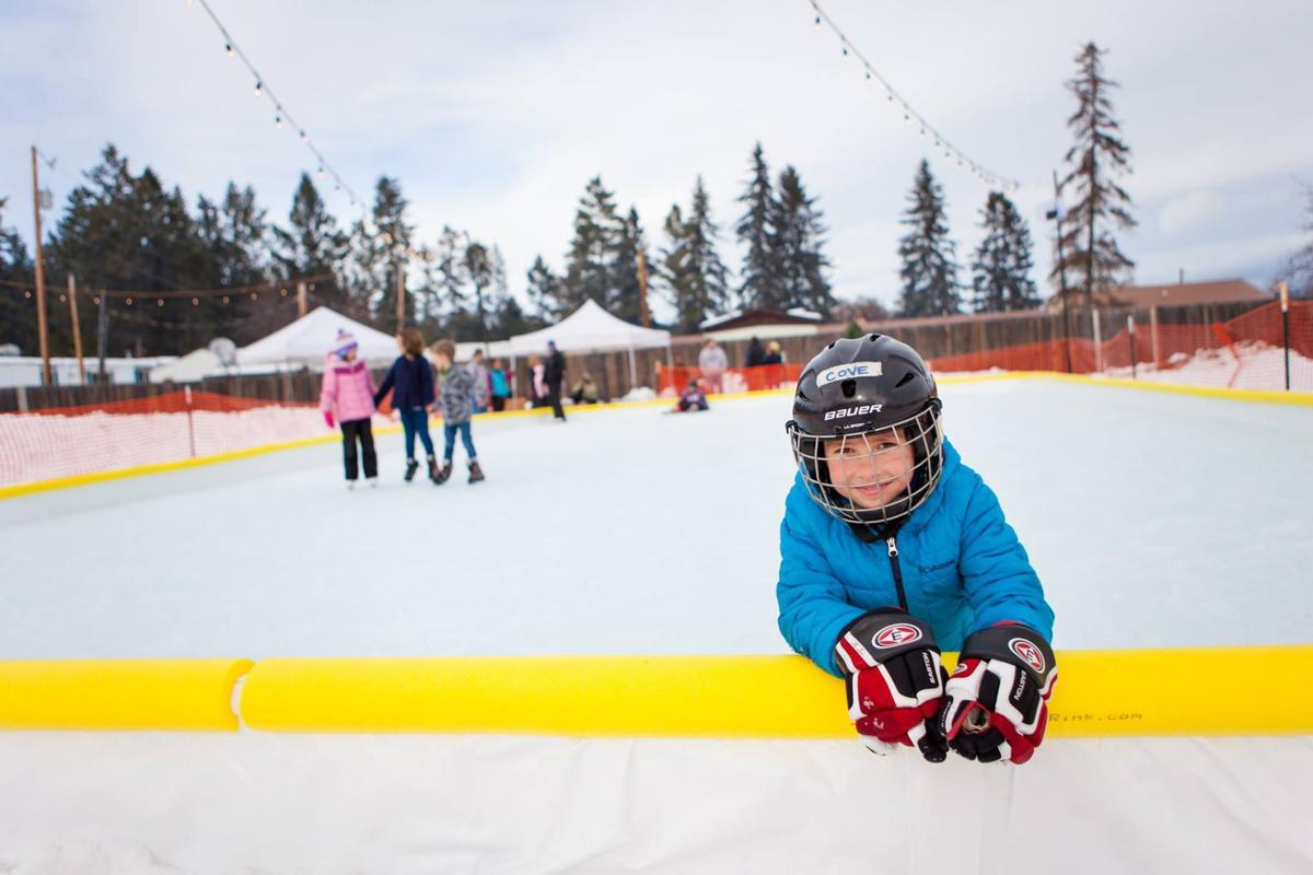 Children And S Will Have An Opportunity To Do Some Ice Skating This Winter As The