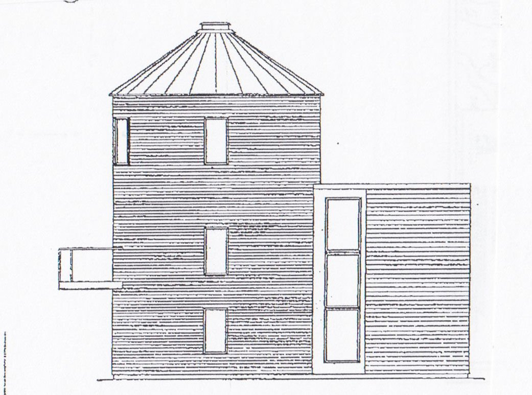 Silo cabin concept in Bloomfield development