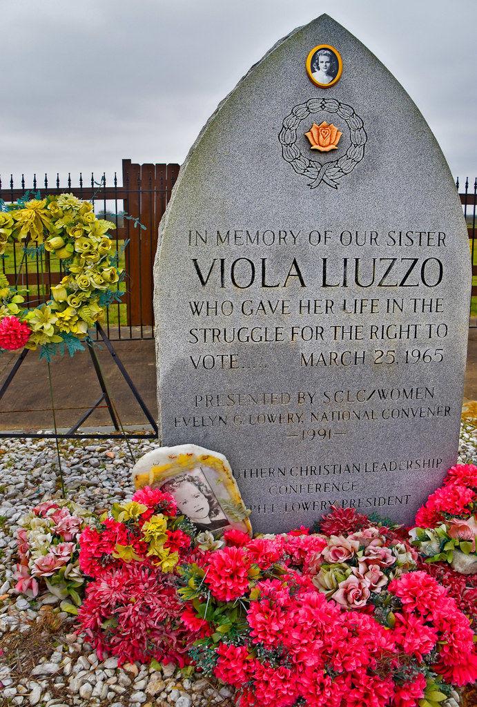 Viola Liuzzo memorial civil rights figure free stock image