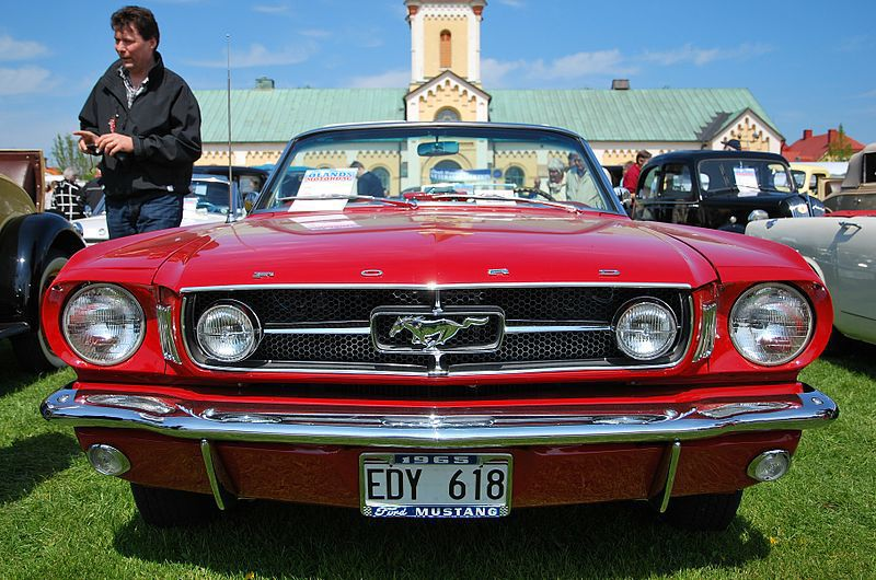 1965 Ford Mustang free stock image