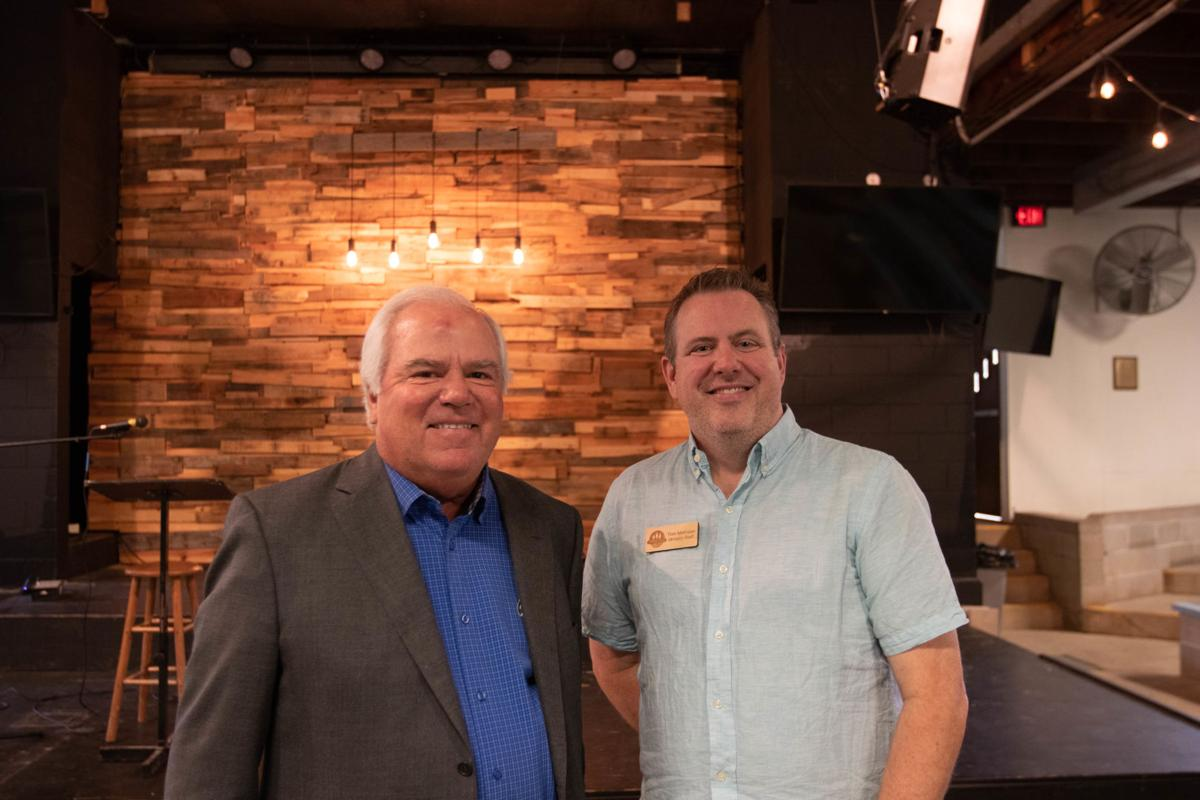 Craig Culver with Tom Mathisen