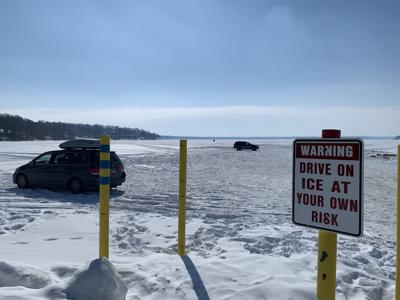 Drive on ice at your own risk
