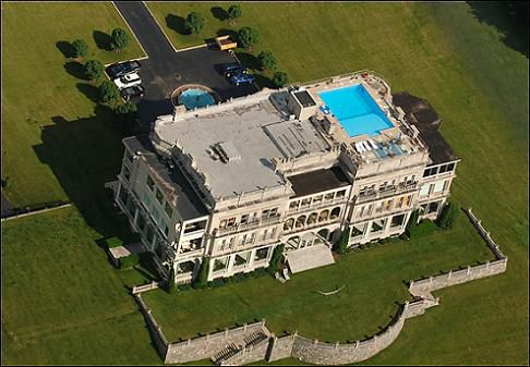 Stone Manor aerial view courtesy of David Curry