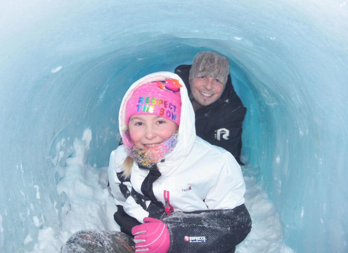 Ice castle photo