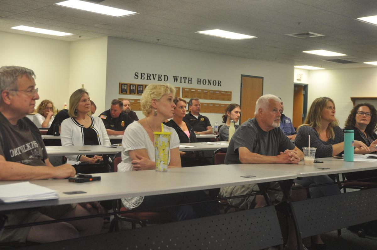 City aldermen, along with other city officials attended an informational meeting to present ideas