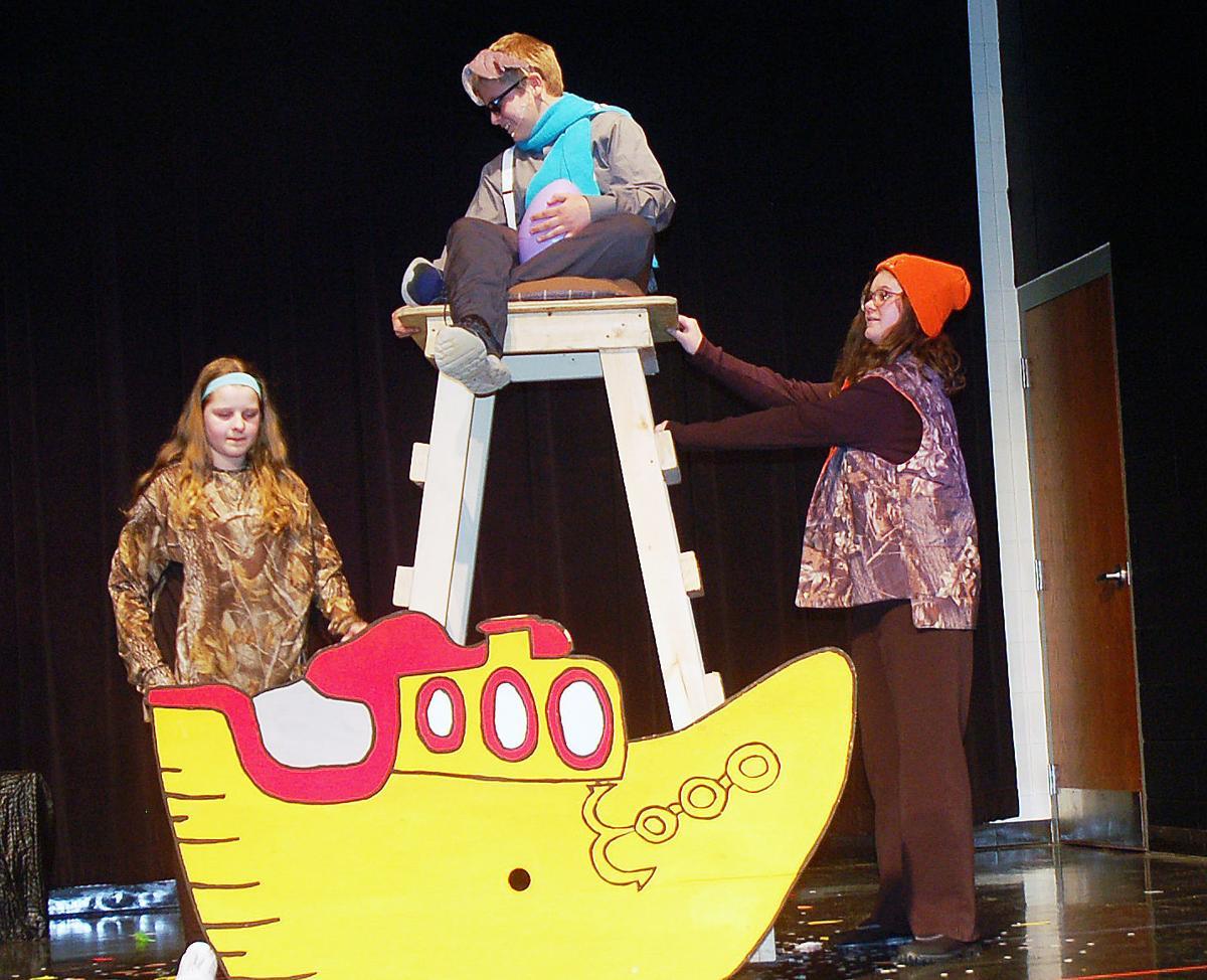 Horton in the boat