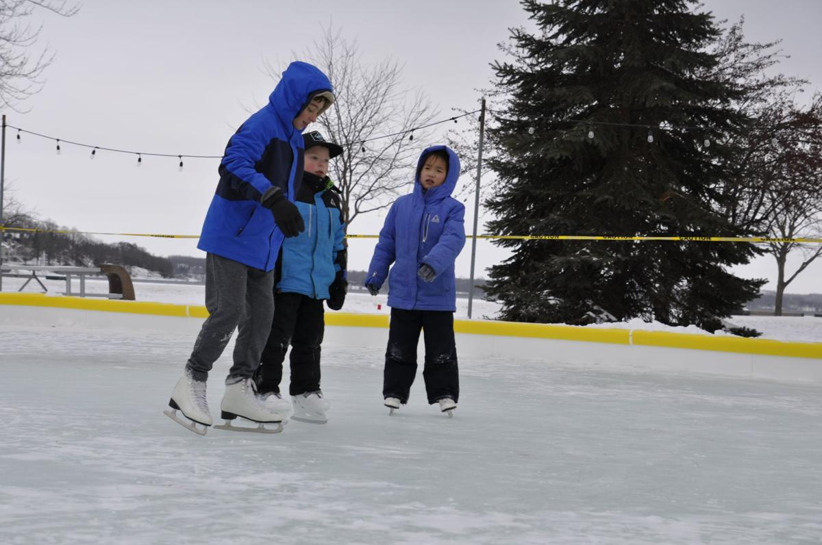 An ice skating rink could be installed at Flat Iron Park this winter
