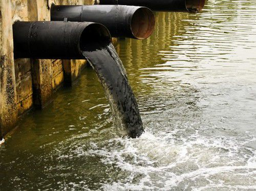 Water pollution generic free stock image