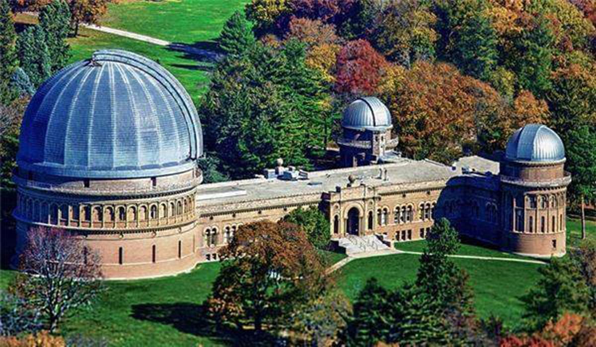 Yerkes campus aerial