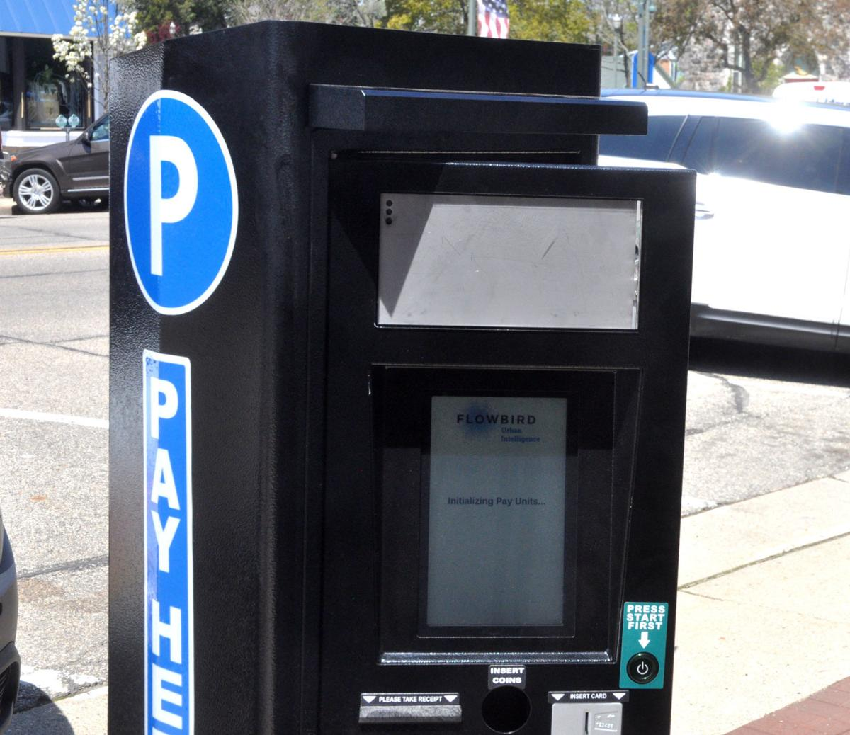 Fifty new touch-screen parking kiosks were installed in downtown Lake Geneva last week