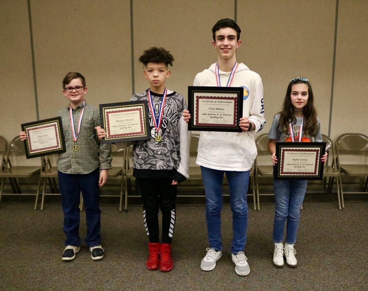 Spelling bee champs 2019