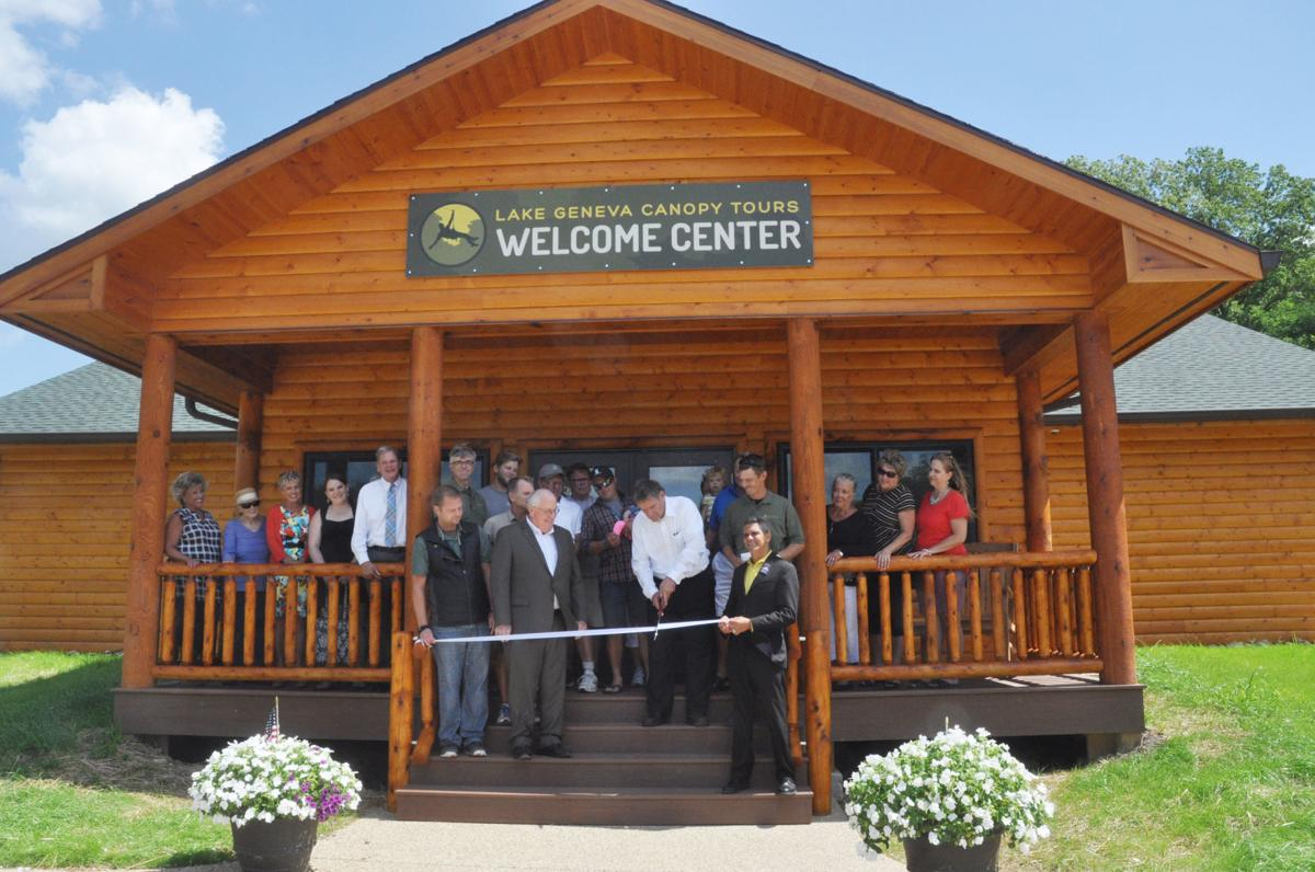 Welcome center at Lake Geneva Canopy Tours