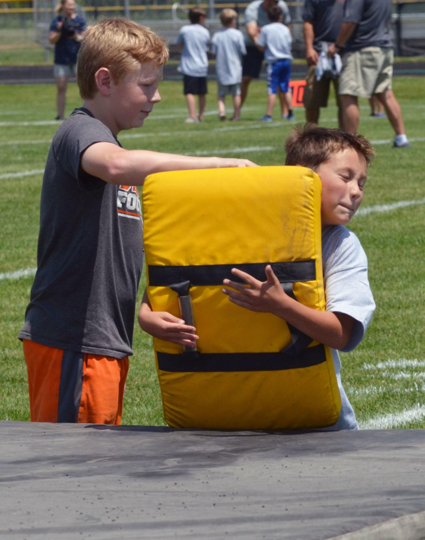 Romo camp tackle