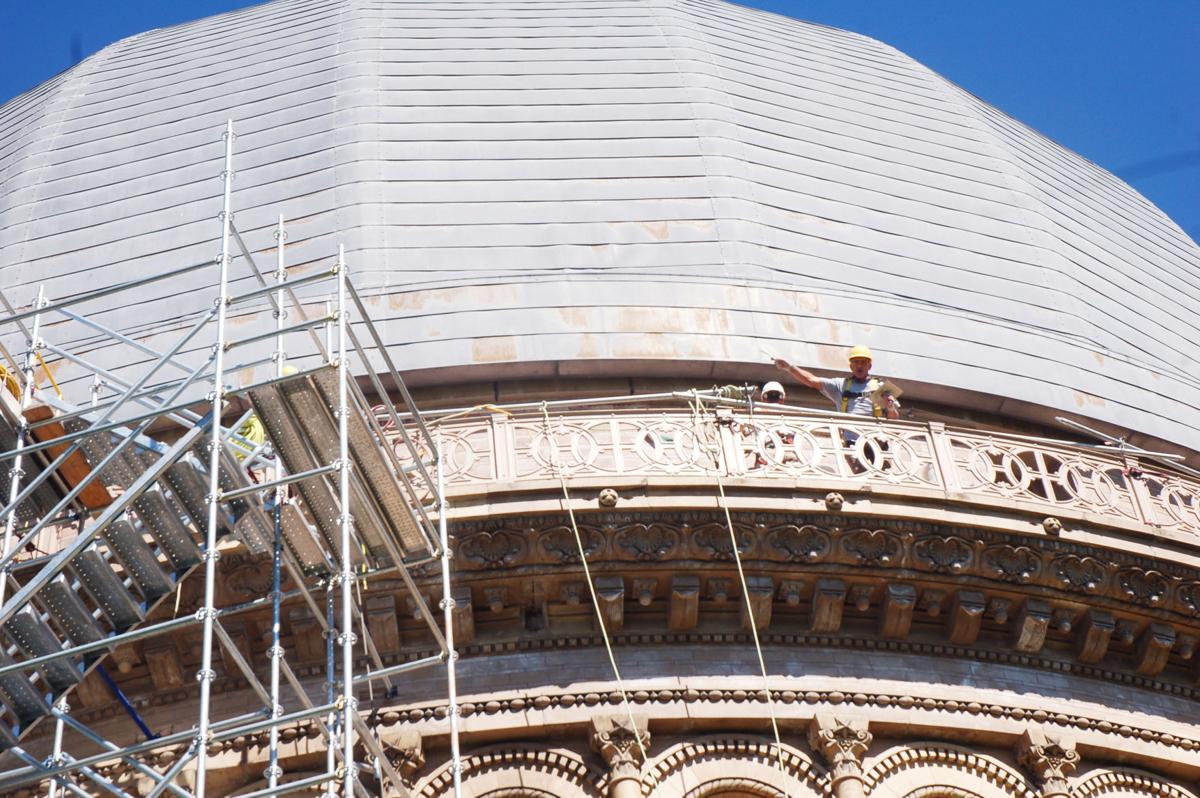 Yerkes restoration begins - 3