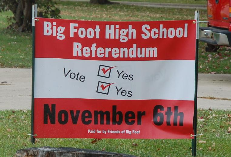 Big Foot signs