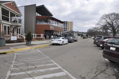 Wrigley Drive pedestrian plaza