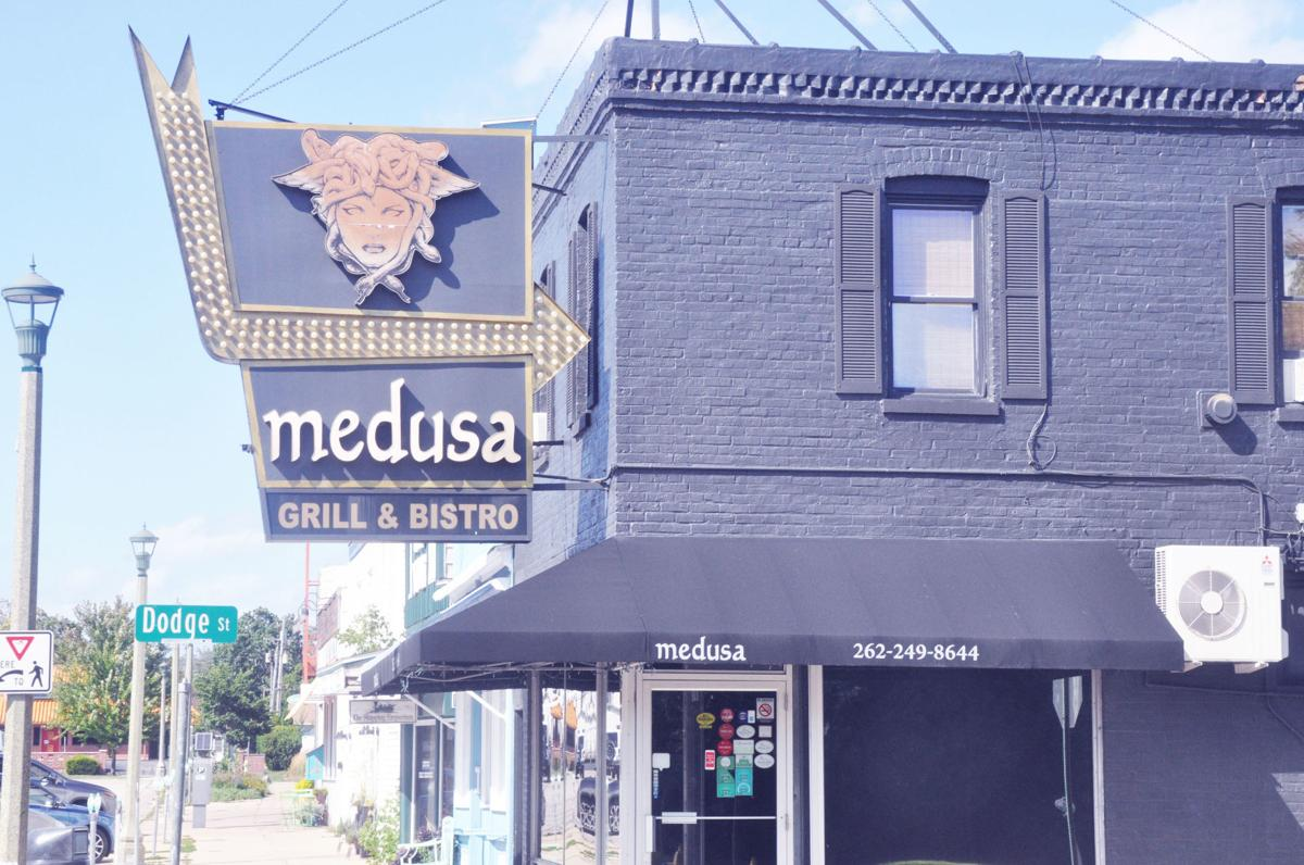 Medusa Grill & Bistro is one of three longtime restaurants in Lake Geneva that currently is for sale