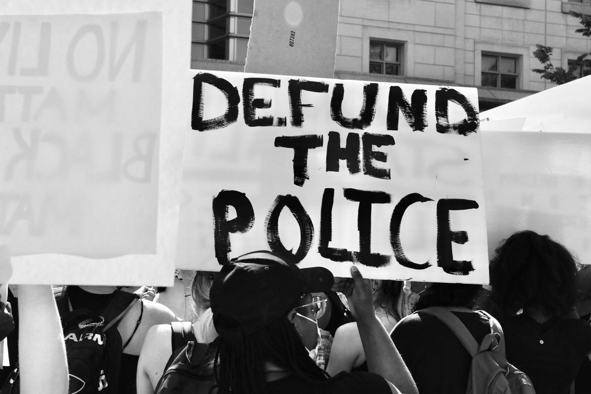 Defund the police generic stock image