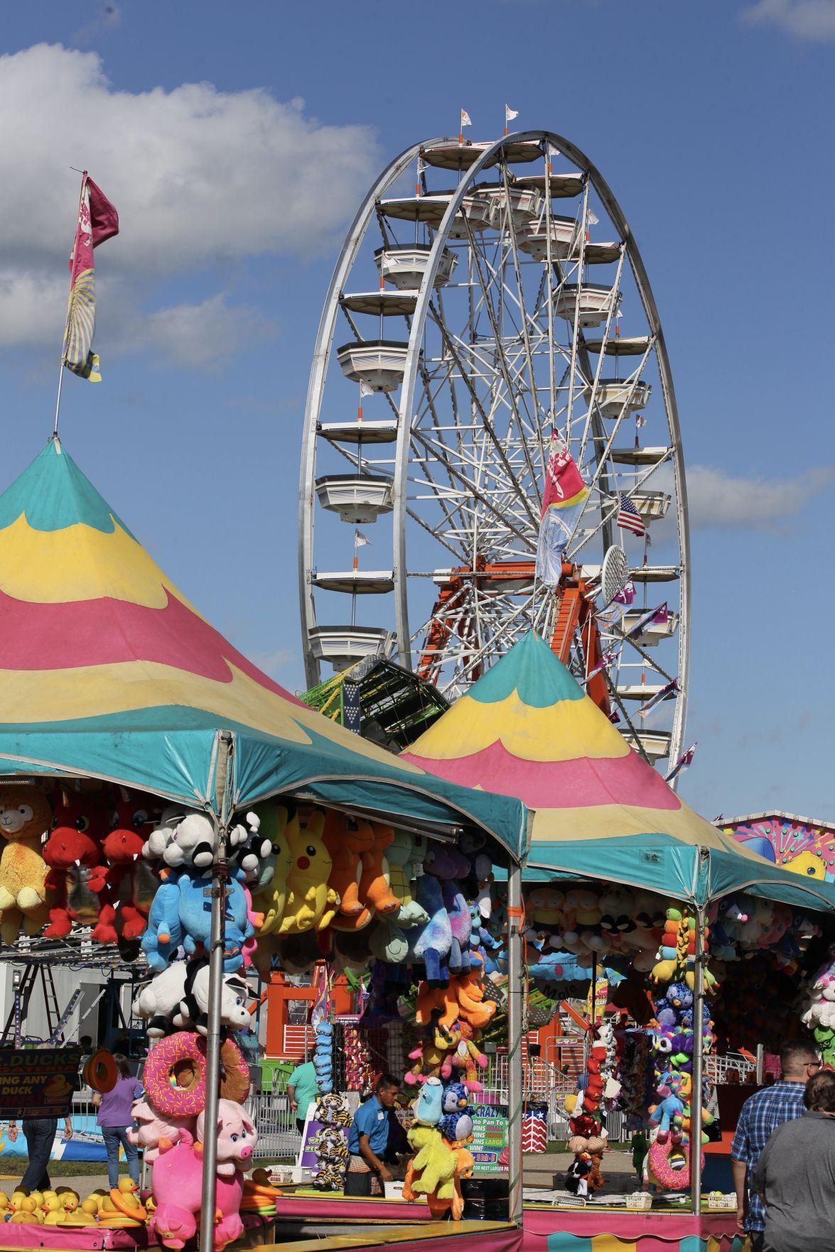 Walworth County Fair Ferris wheel
