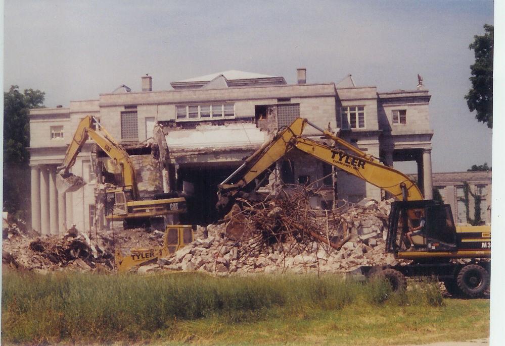 Davidson Hall demolition