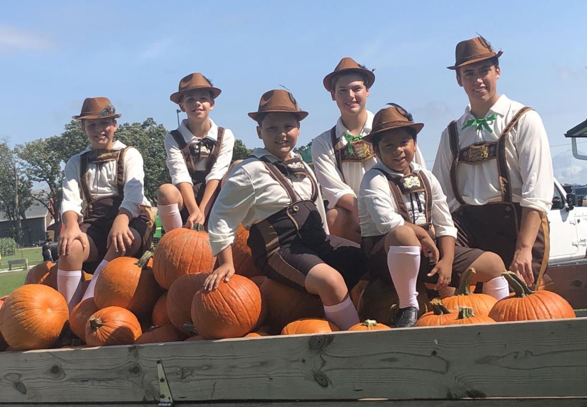 German dancers at town of Delavan Oktoberfest