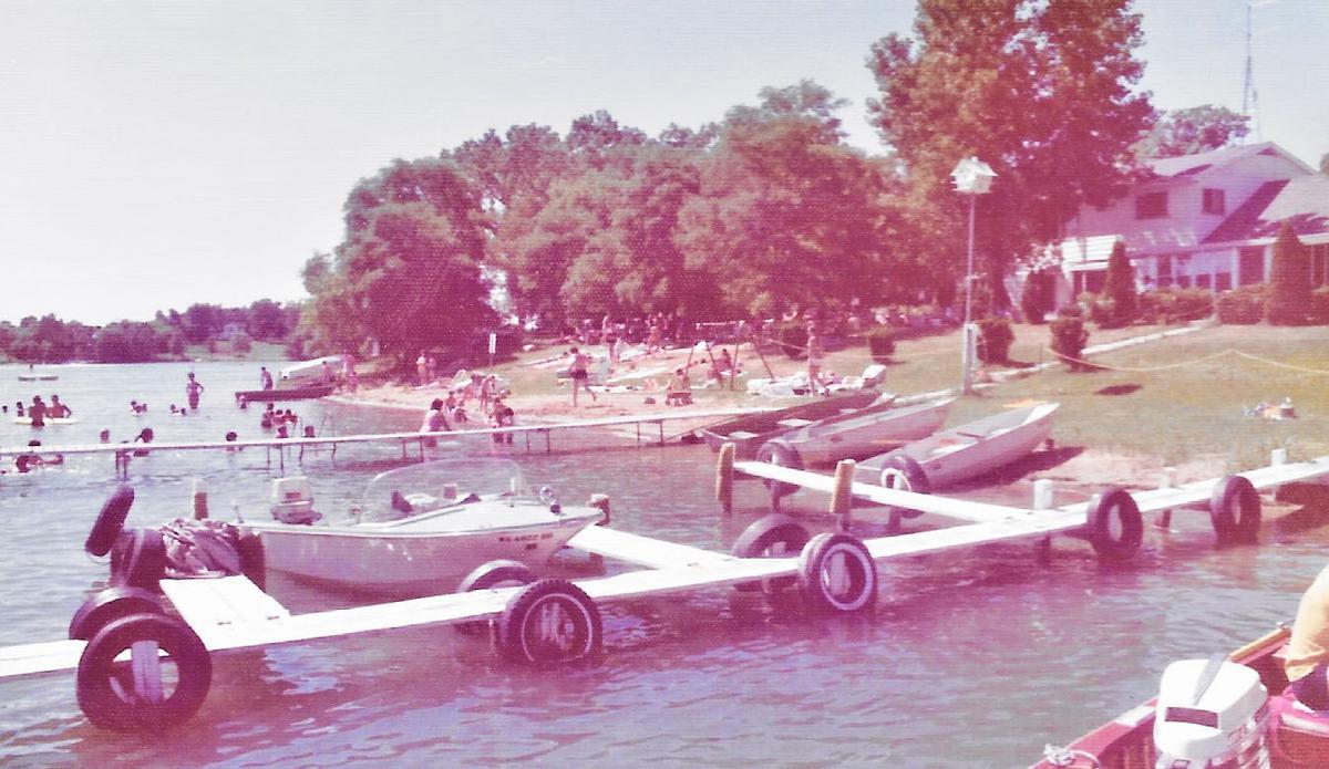 Lake Benedict resort boat launch