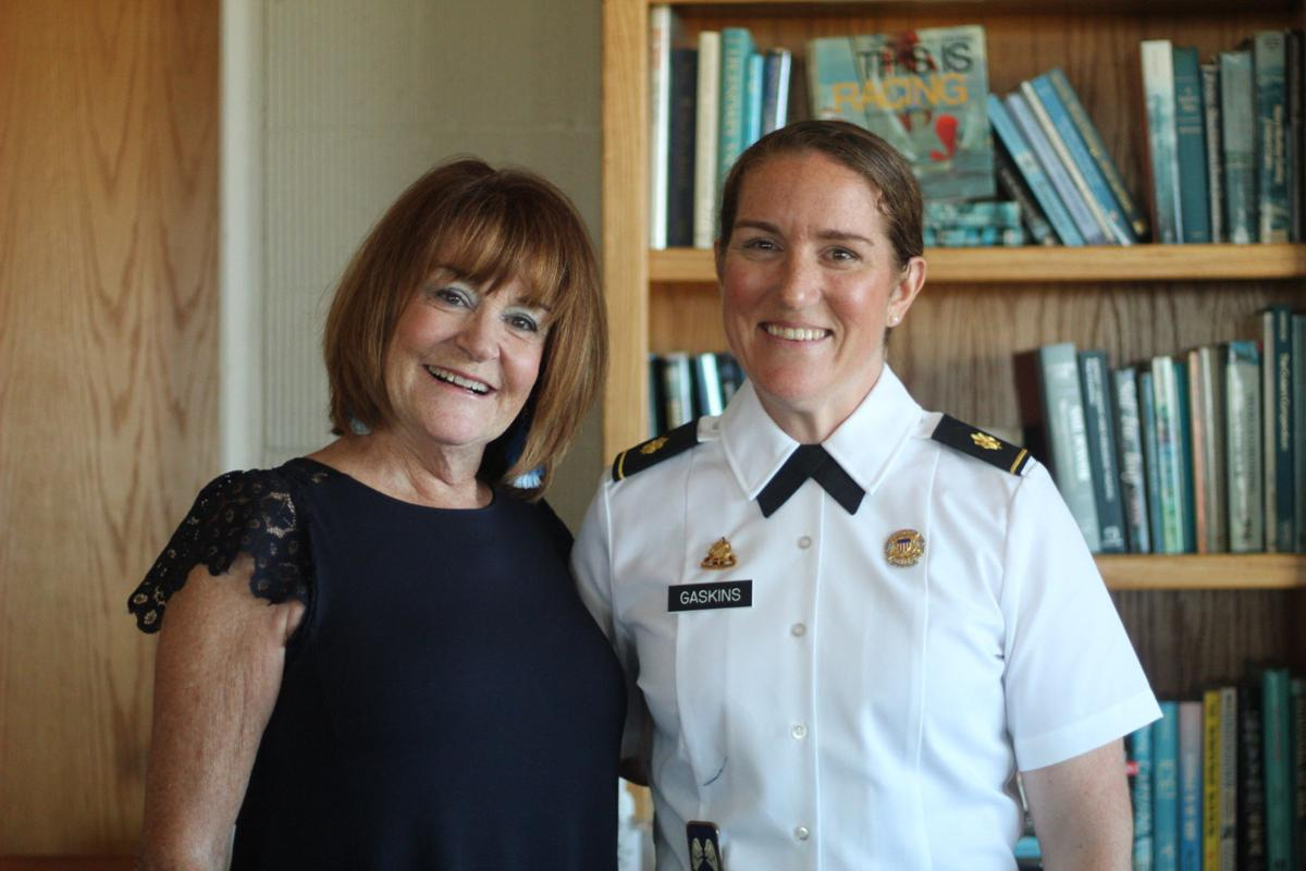 Major Gretchen and Dana Gaskins