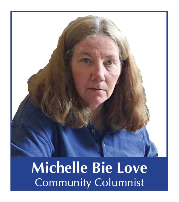 Michelle Bie Love columnist mugshot