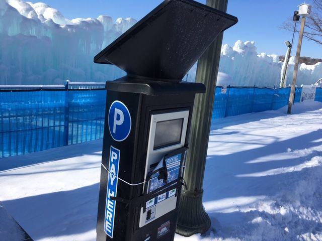 Parking kiosk prototype