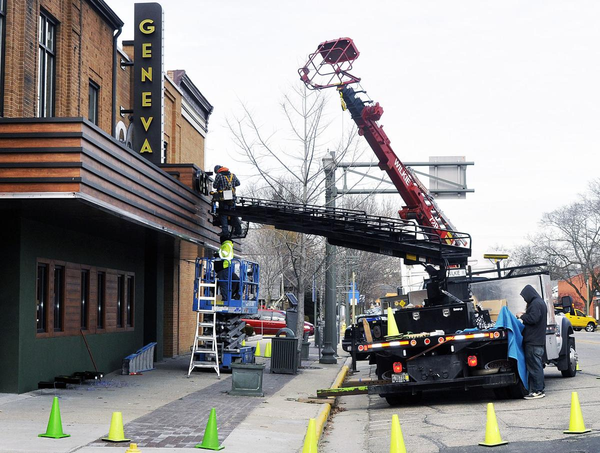 Geneva Theater construction