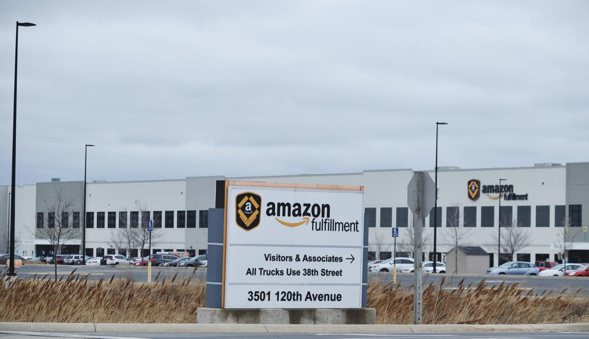 Amazon facility in Kenosha
