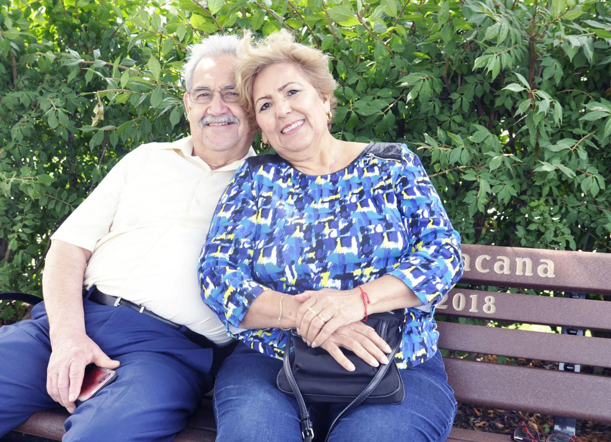 Jose and Maria Delgado at Fontana lakefront