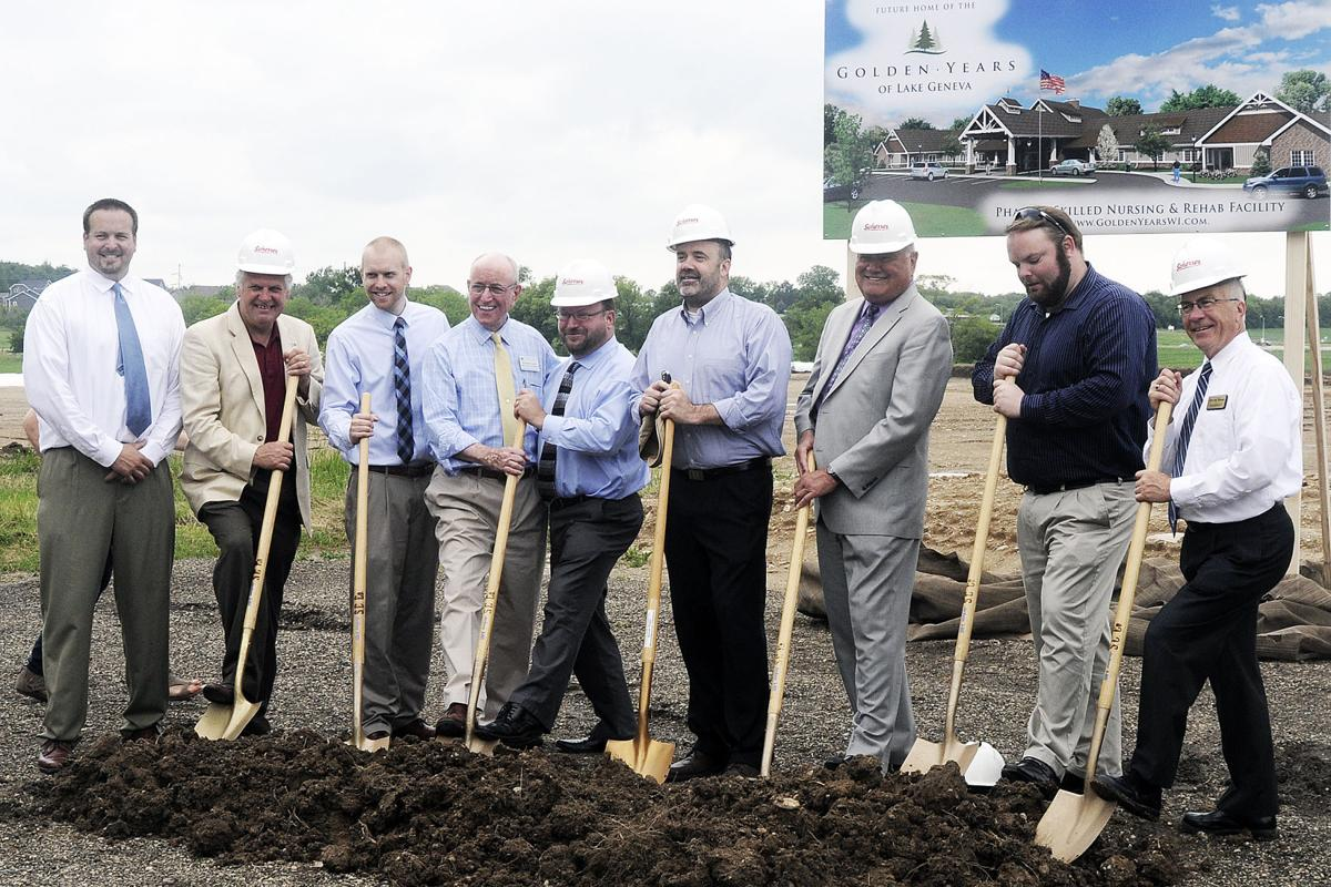 Local officials turn out for Lake Geneva Golden Years groundbreaking