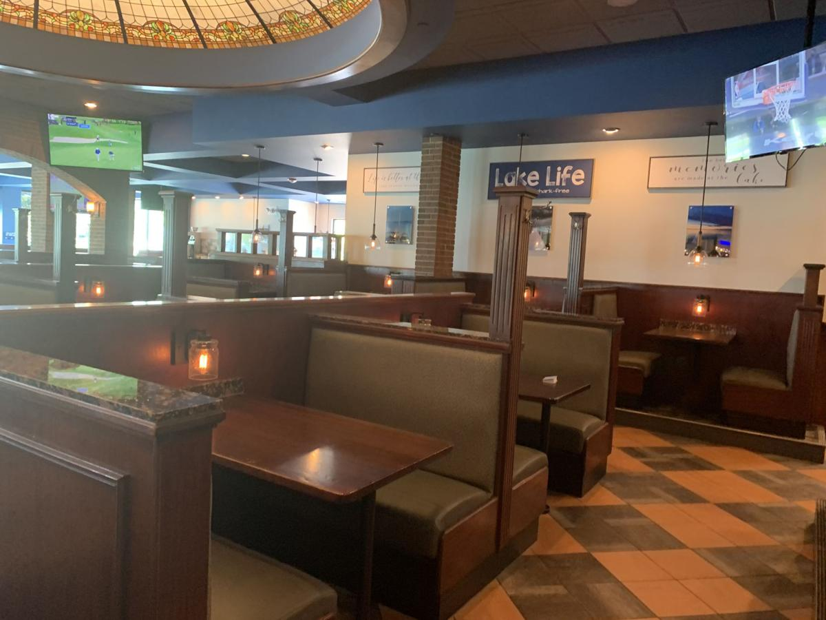 Lake City Social offers a renovated dining area for customers to enjoy a meal.
