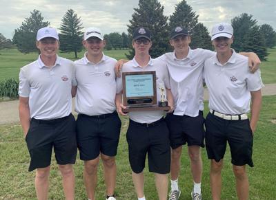 Badger golf trophy