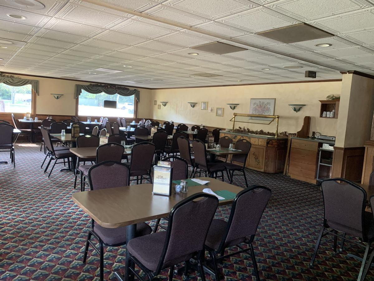 Dining rooms for customers to enjoy a meal