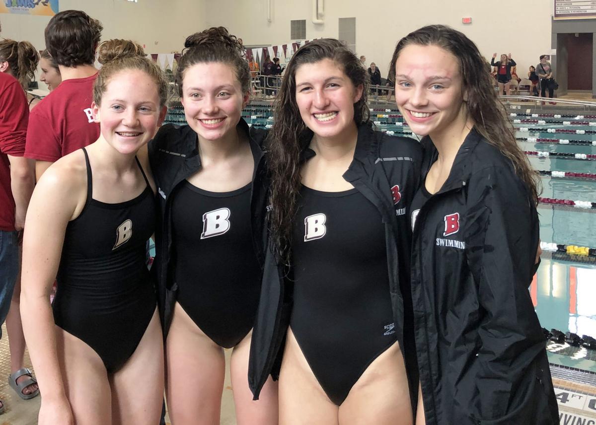 Badger swim 200 free relay