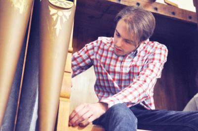 Chris Cronje church organ crew member