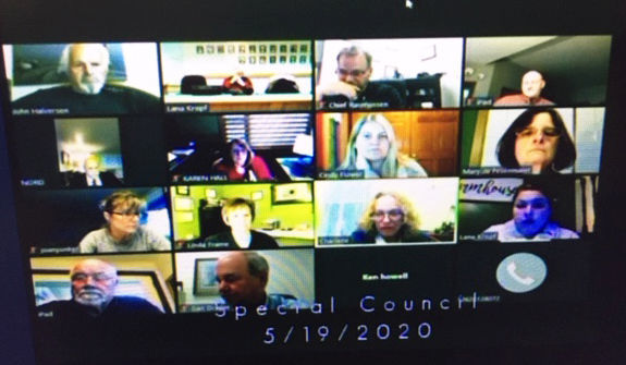 Lake Geneva city council meeting on video