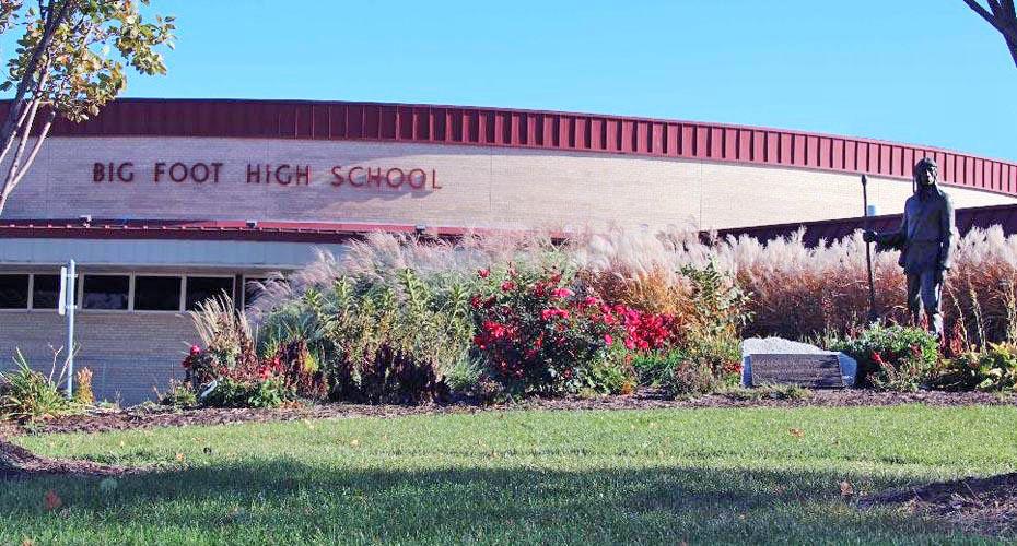 Big Foot High School building