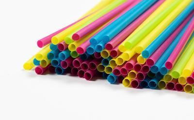 Drinking straws free stock image