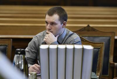 Nathan Kivi criminal defendant at trial