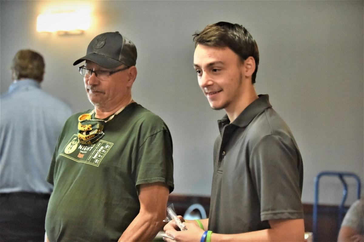 Grandparent and grandson