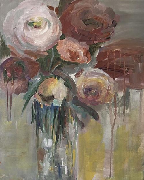 Sharon Larson painting