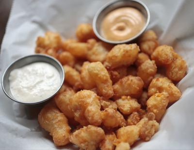 No. 13 House-made Wisconsin Beer-battered Cheese Curds