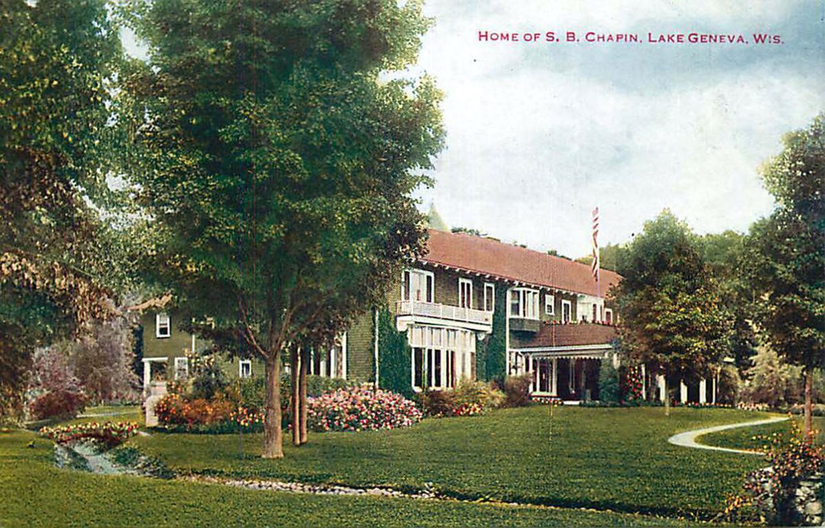 S.B. Chapin home for Bie Love column