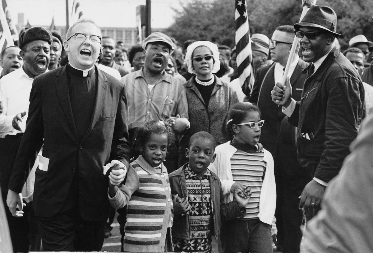 Selma, Alabama, protesters 196s0 civil rights movement free stock image